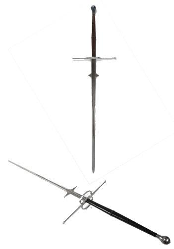 zweihändig geführtes ruder
